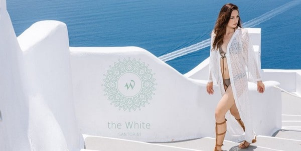 The White Santorini clothing