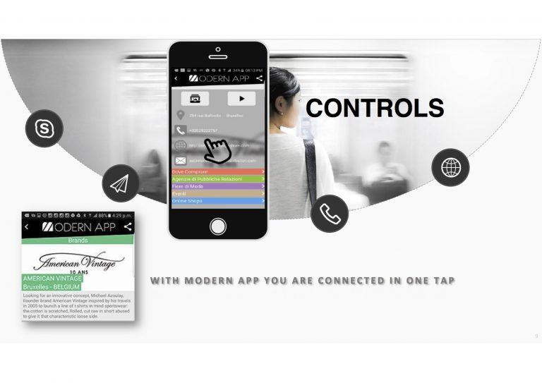 modern app navigator