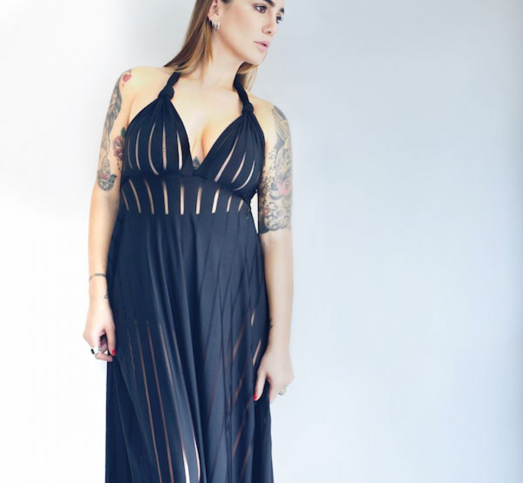 Newest Blk Dress by HAFA
