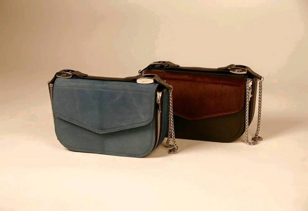 Made in Italy leather hand bags