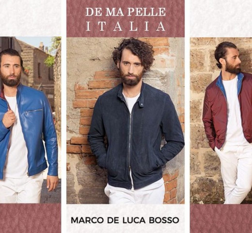Marco de Luca Bosso leather jackets for men and women