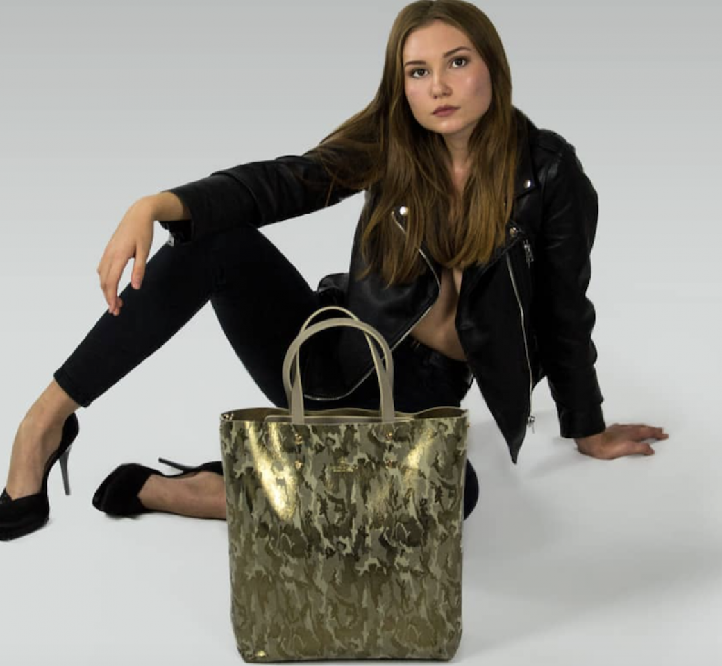 Camouflage bag by Bussola
