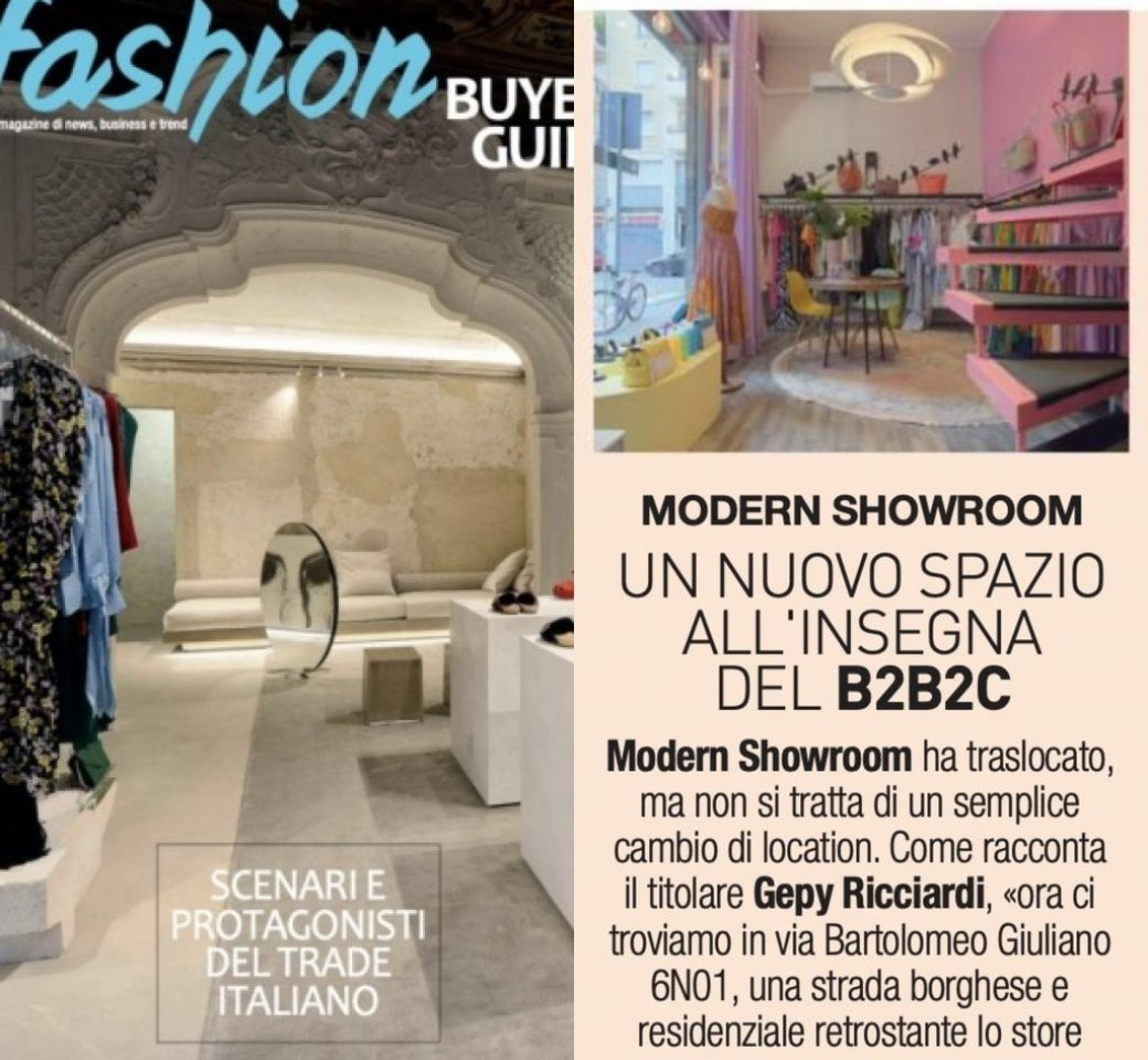 Modern Showroom @ Buenos Aires Milan with 6N01 Retail concept 2019