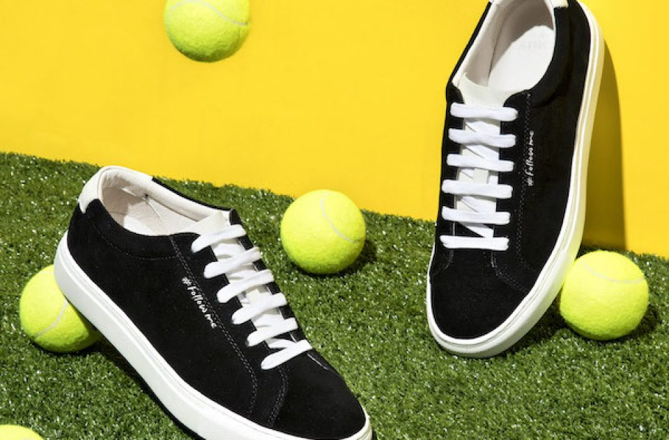 AINKER brand leather line of handmade sneakers and wallets